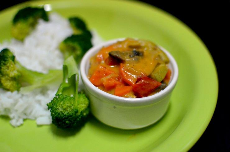 Thay red vegetable curry – sau experimente pe un preparat care nici macar nu stiu ce gust ar trebui sa aiba