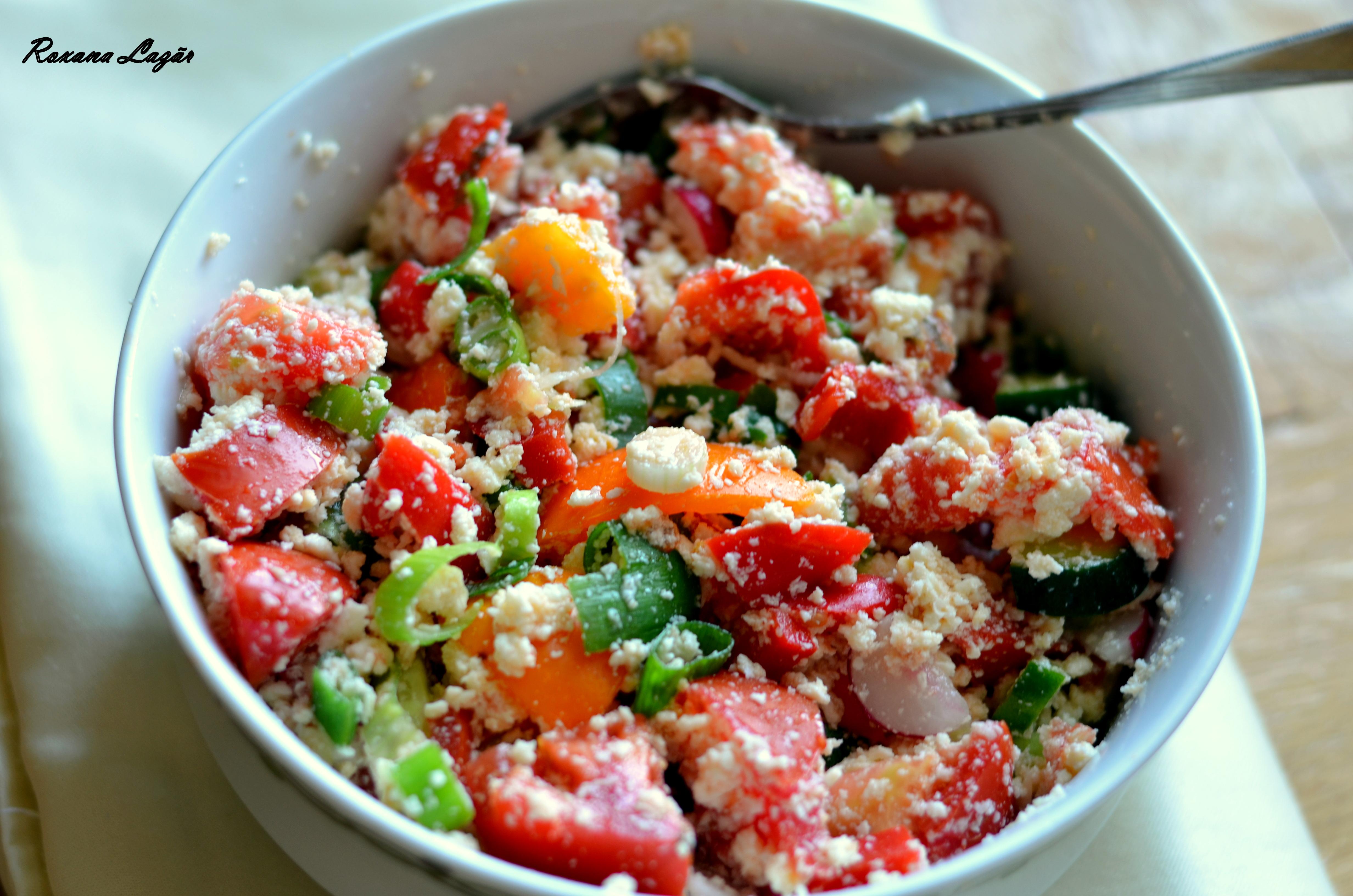 O altă salata cu iz de vara