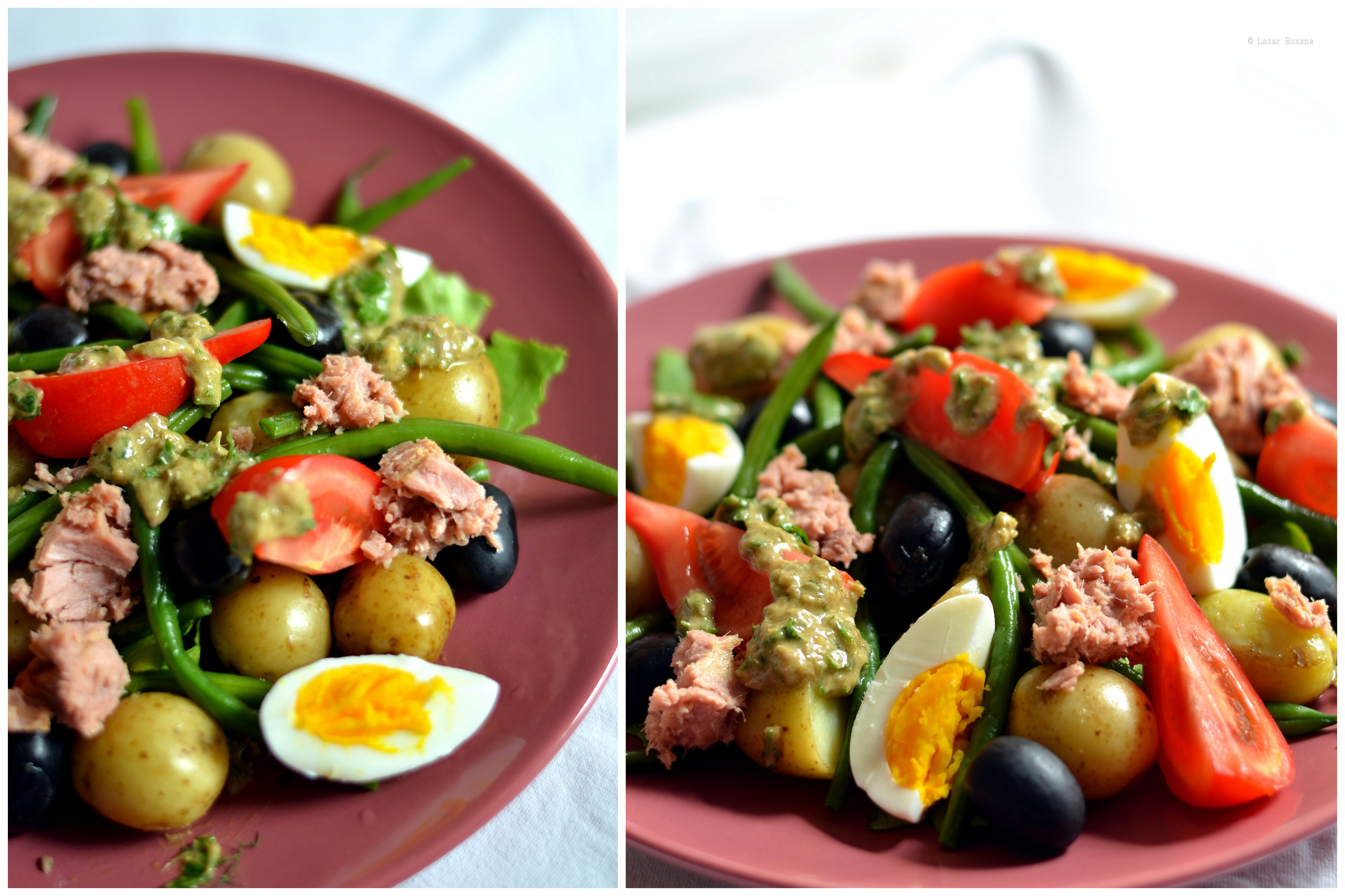 Salata nicoise cu ton a lui Gordon Ramsay