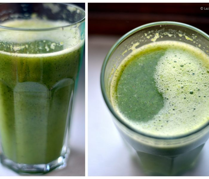 Smoothie verde si aromat